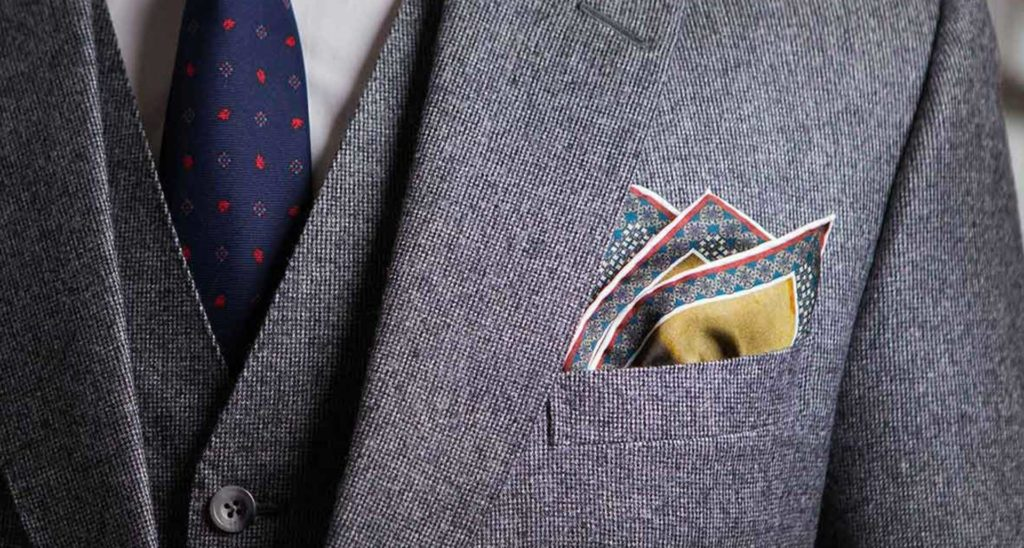 84915b63355f3 It's All In The Details - Pocket Squares - Damanino | Bespoke Suit ...